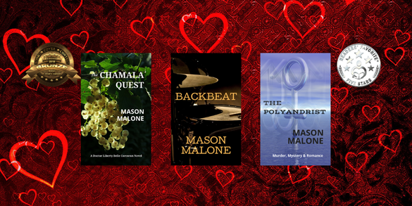 Give the Gift of Reading for Valentine's Day Author Mason Malone