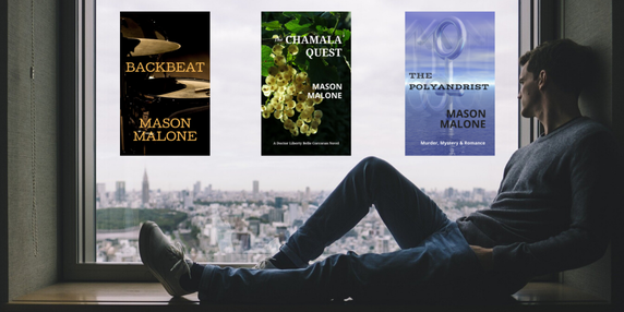 Pick Up a New Read by Author Mason Malone.
