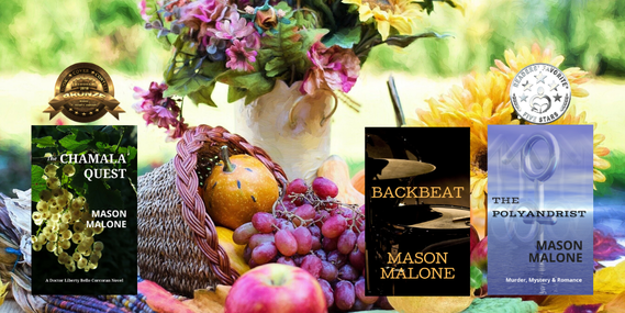 The Chamala Quest, Backbeat and The Polyandrist Novels by Author Mason Malone