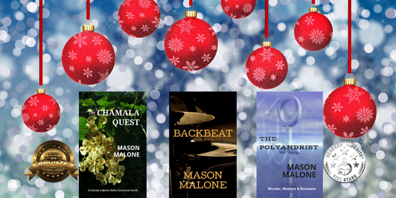 Give the Gift of Reading With a Novel by Author Mason Malone!